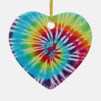 Rainbow Spiral 2 Sides Ornament