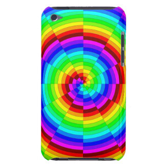 Rainbow Spiral Barely There iPod Case