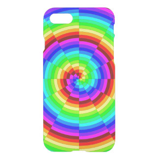 Rainbow Spiral by Kenneth Yoncich iPhone 7 Case