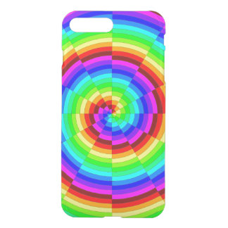 Rainbow Spiral by Kenneth Yoncich iPhone 7 Plus Case