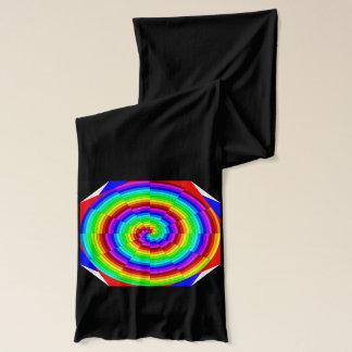 Rainbow Spiral by Kenneth Yoncich Scarf