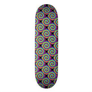 Rainbow Spiral by Kenneth Yoncich Skateboard