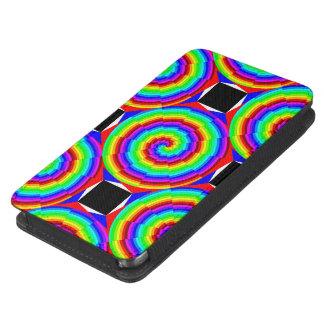Rainbow Spiral Galaxy S5 Pouch