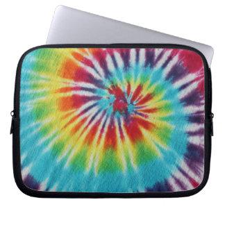 Rainbow Spiral Computer Sleeve