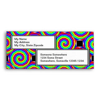 Rainbow Spiral Envelopes