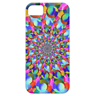 Rainbow Spiral Fractal Art iPhone 5/5S Covers
