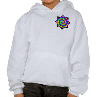 Rainbow Spiral Hoodie