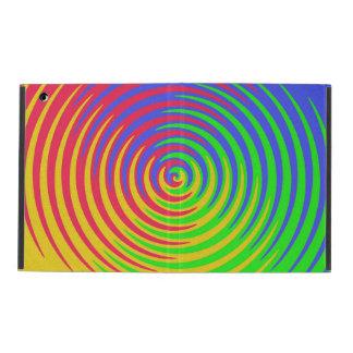 Rainbow Spiral iPad Cover