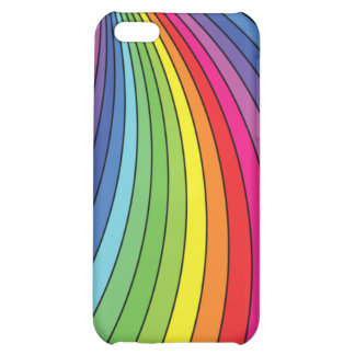 Rainbow spiral iphone4 case iPhone 5C covers