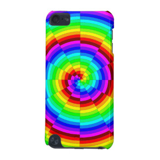 Rainbow Spiral iPod Touch (5th Generation) Cover