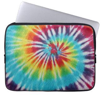 Rainbow Spiral Computer Sleeves