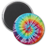 Rainbow Spiral Magnets
