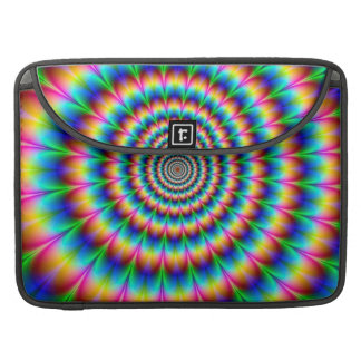 Rainbow Spiral Optical Illusion Sleeves For MacBooks