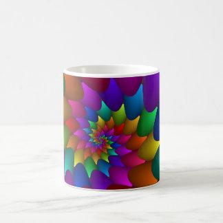 Rainbow Spiral Orbs Mug