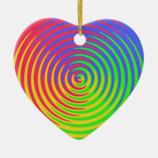 Rainbow Spiral Ornament