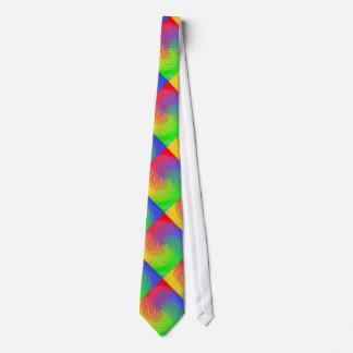 Rainbow Spiral Tie