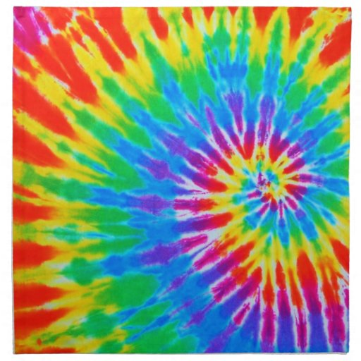 how to make triple spiral tie dye