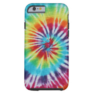 Rainbow Spiral Tough iPhone 6 Case