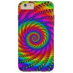 Rainbow Spiral Tough iPhone 6 Plus Case