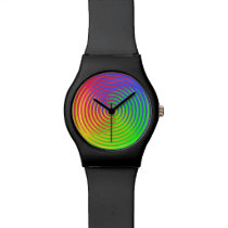Rainbow Spiral Watch