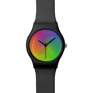 Rainbow Spiral Watch