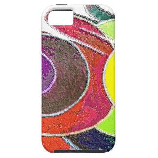 Rainbow  Spirals iPhone 5 Case