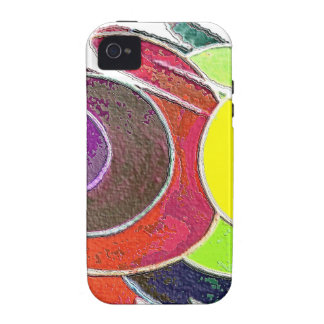 Rainbow  Spirals iPhone 4/4S Cover