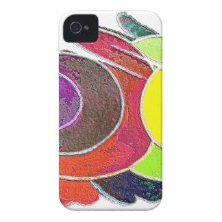 Rainbow  Spirals iPhone 4 Case-Mate Case
