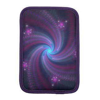 rainbow spirals iPad mini sleeves