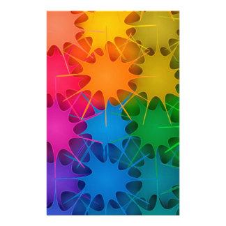 Rainbow Splat! Stationery