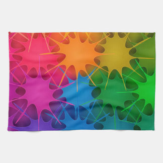 Rainbow Splat! Towel