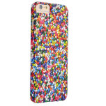 Rainbow sprinkles barely there iPhone 6 plus case