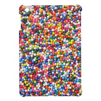 Rainbow sprinkles iPad mini cases