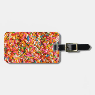 Rainbow Sprinkles Tags For Luggage