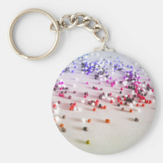 Rainbow Sprinkles Photography Keychain