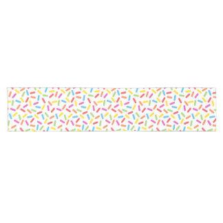 Rainbow Sprinkles Short Table Runner
