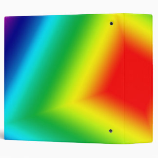 rainbow square binder