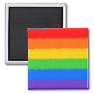 Rainbow Square Magnet