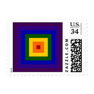 Rainbow Square – Small Stamps