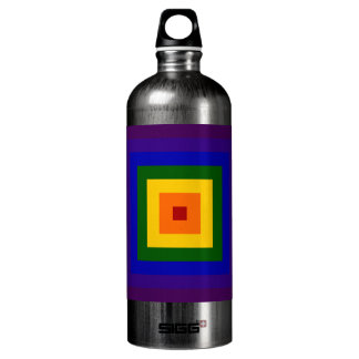 Rainbow Square Water Bottle