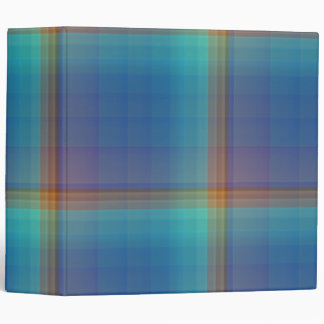 Rainbow Squares 3-ring Binder