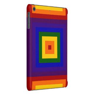 Rainbow Squares iPad Mini Retina Cases