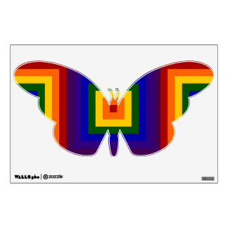 Rainbow Squares Wall Sticker
