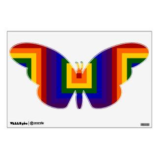 Rainbow Squares Wall Sticker