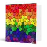 Rainbow Stained Glass folder