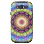 Rainbow stained Glass Galaxy S3 Cover