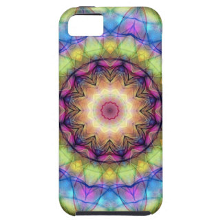 Rainbow stained Glass iPhone SE/5/5s Case