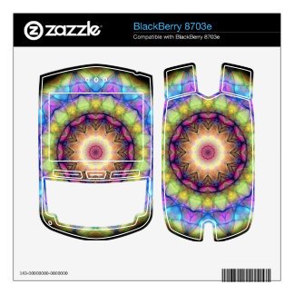 rainbow stained glass skins for BlackBerry