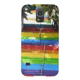 Rainbow Stairs Istanbul Turkey Galaxy S5 Case