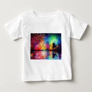 Rainbow Stallion Baby T-Shirt